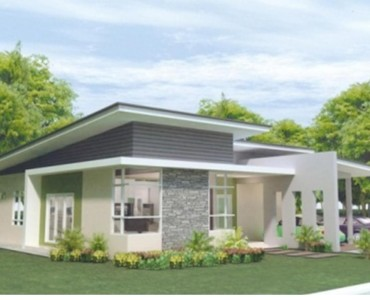 Bungalow House Designs With Terrace Single Design