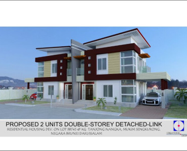 Semi detached modern house house modern for Modern detached house design