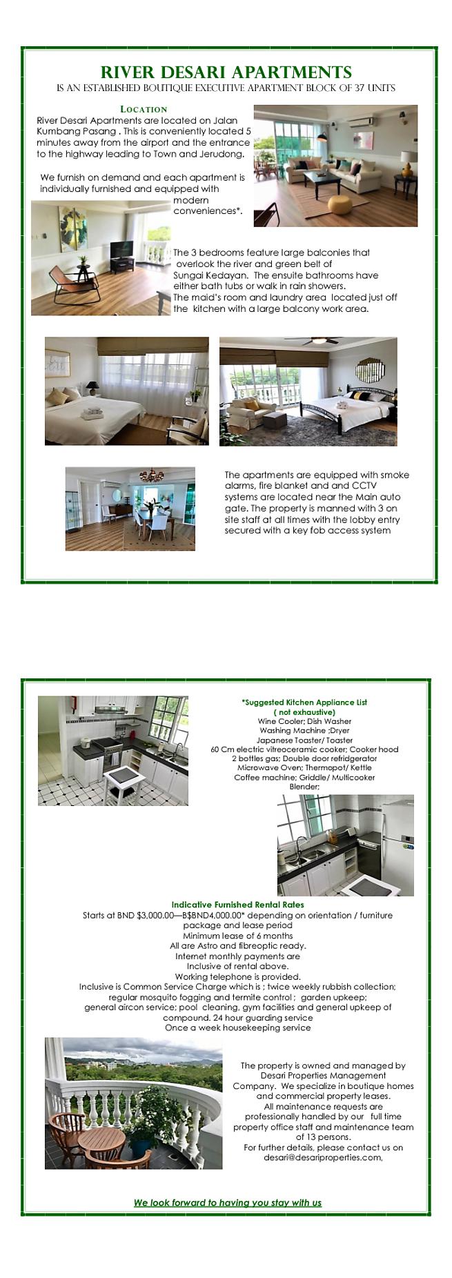 Pan Villa Properties – AB2661, Condominium for rent, River Desari